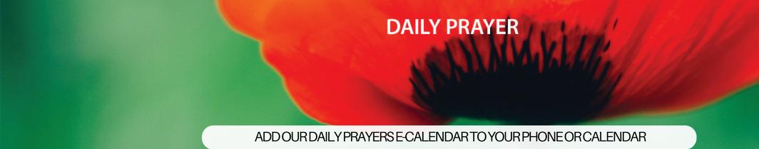 Daily Prayer E-Calendar