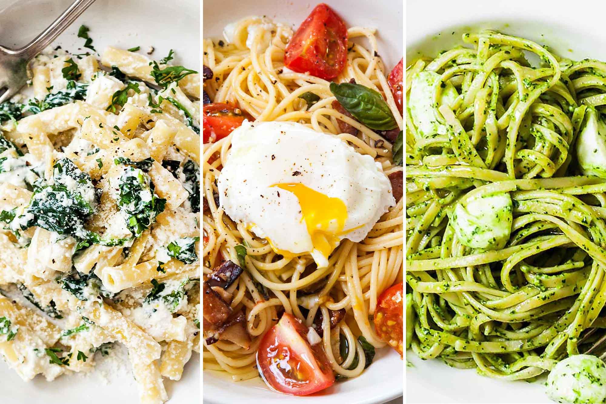 12 Fresh & Easy Weeknight Pasta Recipes for Summer