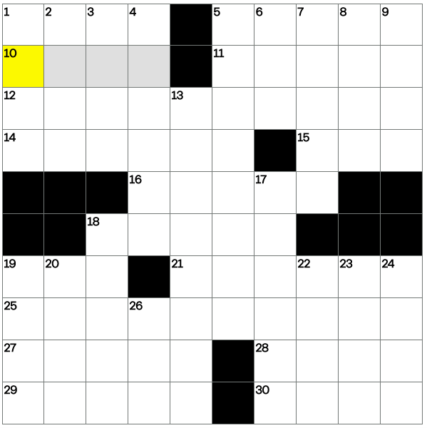 Can you solve today's crossword?
