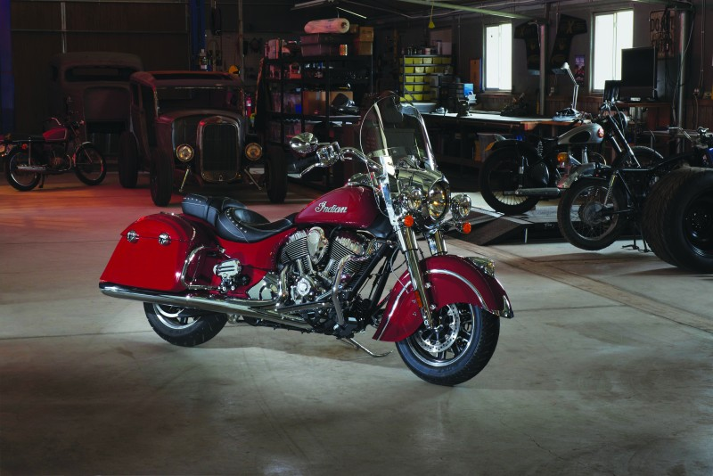 Indian Motorcycle announces the Indian Springfield