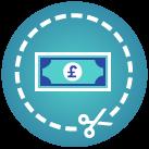 Tax evasion course icon
