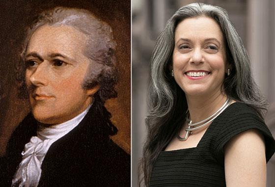 Alexander Hamilton and Joanne B. Freeman