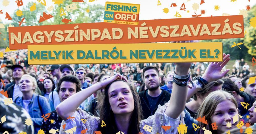 Idén is a közönség nevezi el a Fishing nagyszínpadjait