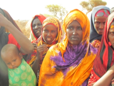 Women being supported at The Galkayo Center