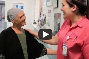 Sam Burns McGrath Breast Care Nurse with Jennifer Costandi