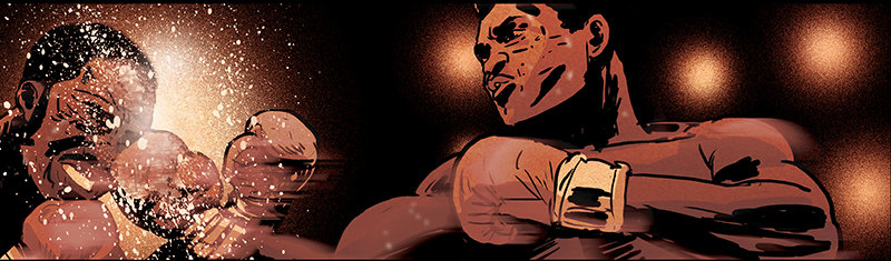 "Graphic Novel ""Muhammad Ali"""