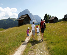 The ADLER properties' many activities make them ideal for multigenerational family groups