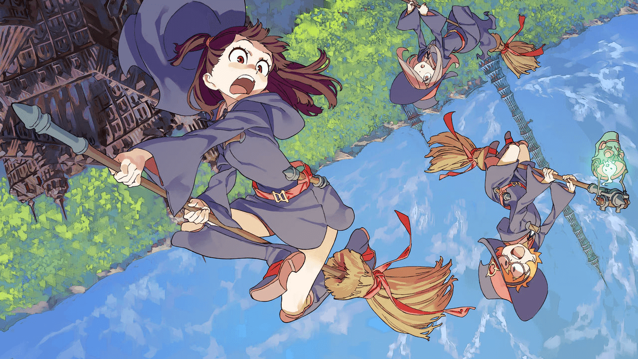 Watch Little Witch Academia on Rabbit!