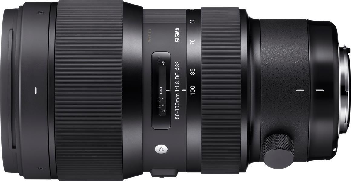 50-100mm F1.8 DC HSM Art Lens