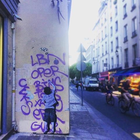 Visite street art dans le Marais