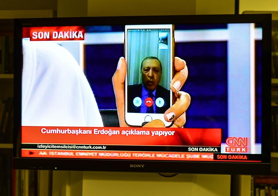 the station that broadcast the FaceTime interview with President Recep Tayyip Erdoğan during last week's coup attempt