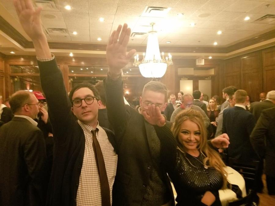 Over the weekend, Tequila — born in Singapore to a Vietnamese family and raised in Texas — shared an image of herself performing a Nazi salute with two men. The image was taken at a gathering of the white nationalist National Policy Institute in Washington, DC. She tweeted it with the caption