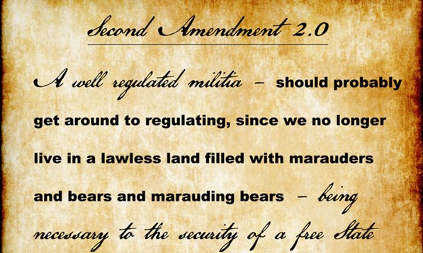 Let's Update The Second Amendment To Better Reflect Our Post-Musket World