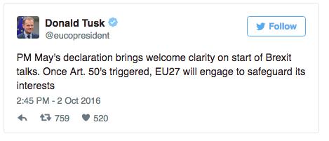 Donald Tusk on Twitter