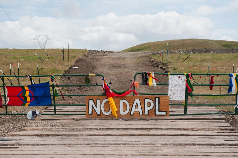 The company behind the pipeline has framed it as an environmentally friendly alternative to transporting oil via trucks and trains. But Native Americans, especially the North Dakota-based Standing Rock Sioux Tribe, along with protesters and environmentalists, aren't buying it.