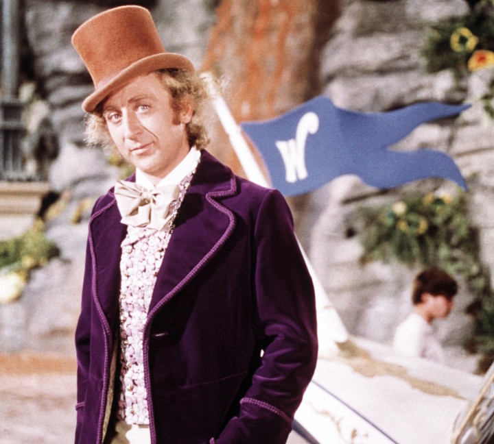 Gene Wilder in the 1971 film Willy Wonka & the Chocolate Factory.