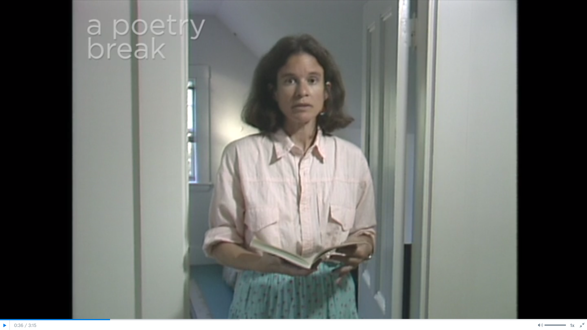 Poetry Breaks: Sharon Olds