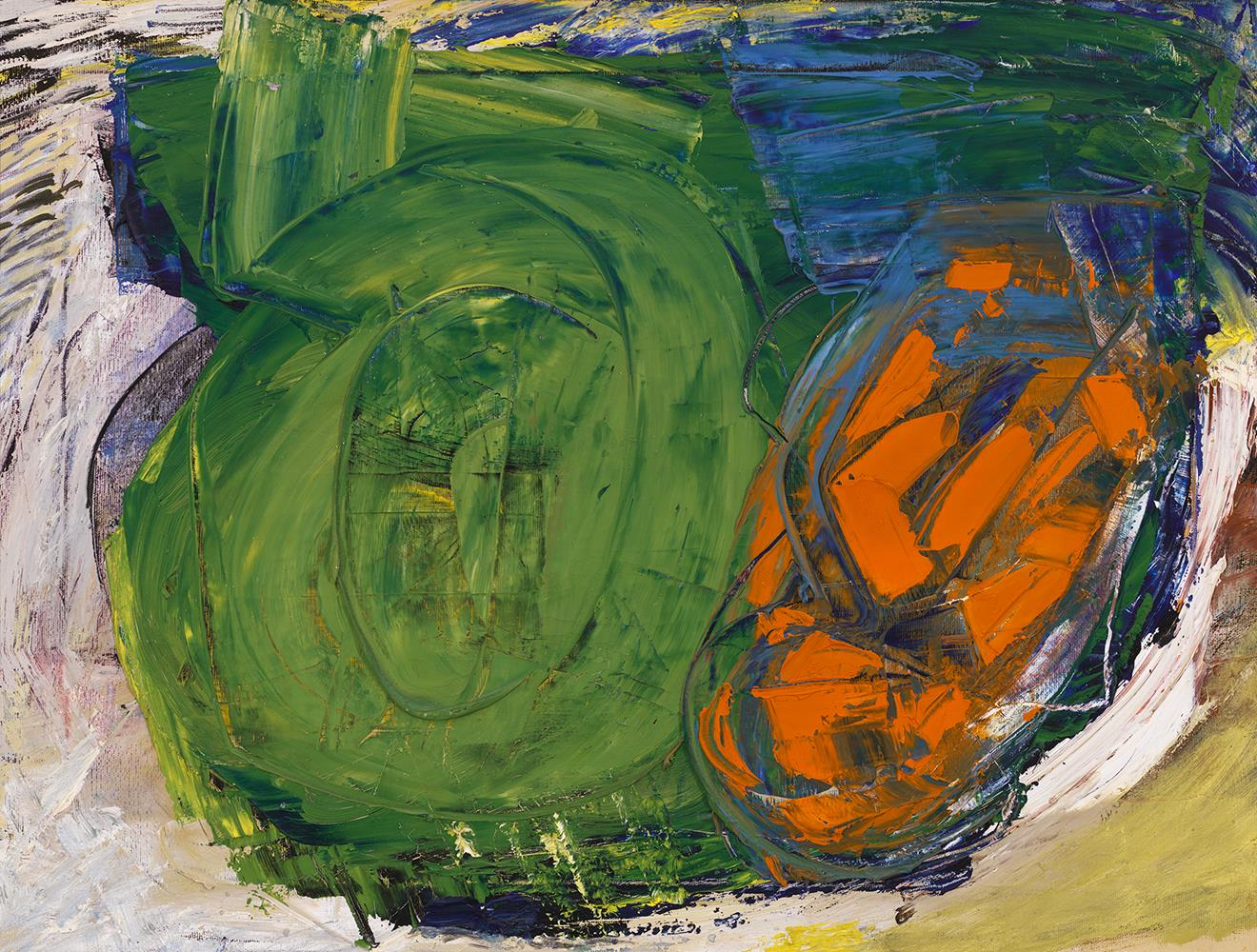 Yvonne Thomas (1913-2009), Allegro, 1961, Oil on canvas, 18 x 24 inches