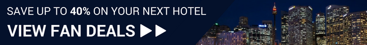 Traveling to the show? Book with us and save up to 40% on your hotel!