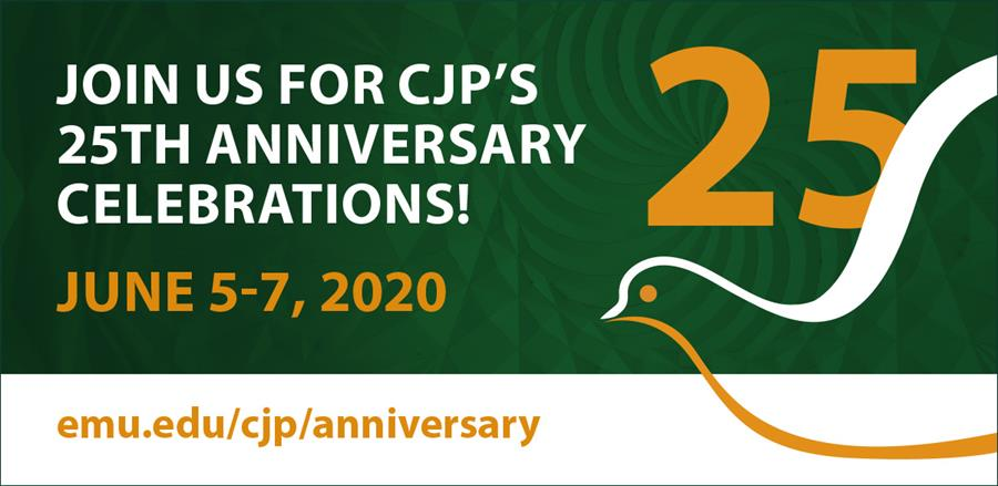 Join us in celebration of CJP's 25 anniversary!