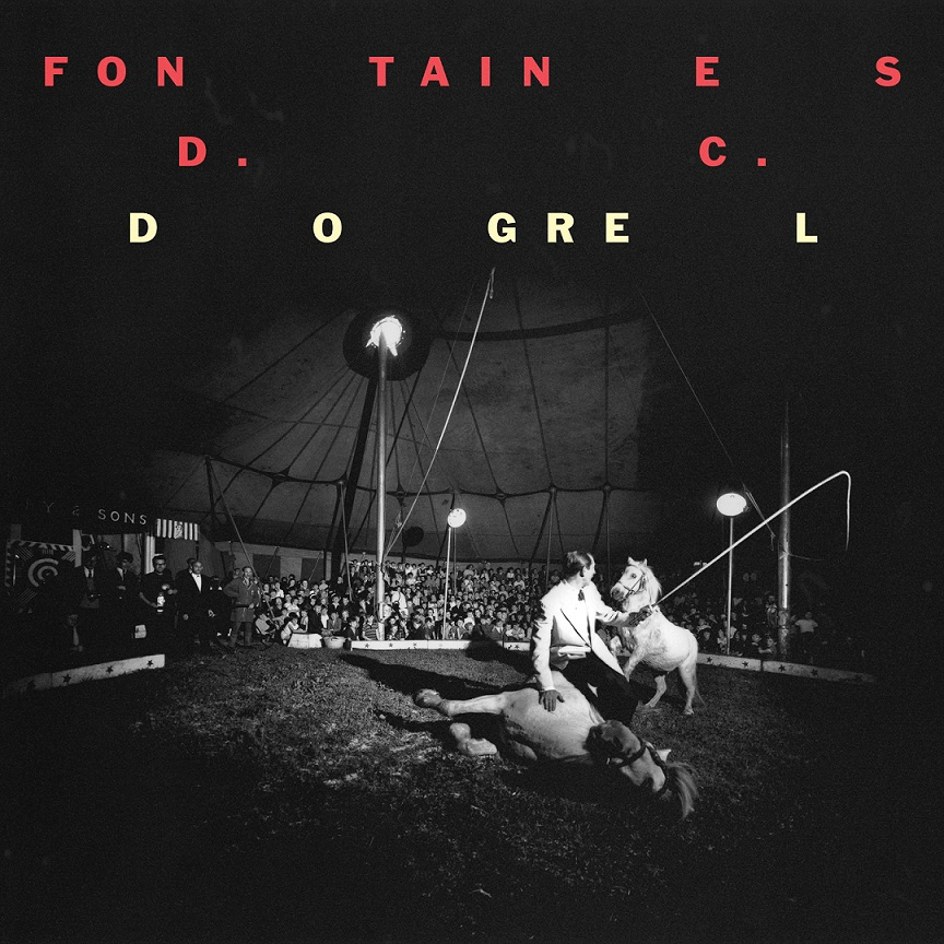 Fontaines D.C. Dogrel cover artwork