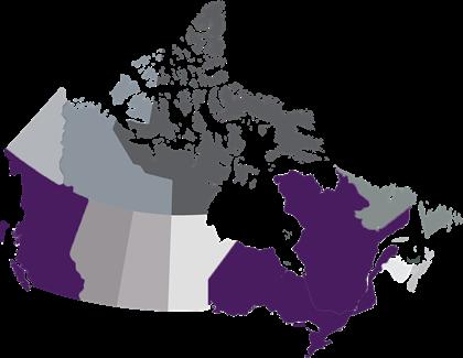 Purple indicates Anti-Slapp protection